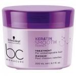 Фото Schwarzkopf BC Keratin Smooth Perfect Treatment - Маска для гладкости волос, 200 мл