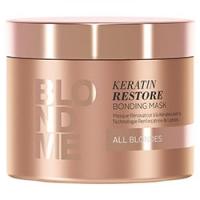 Купить Schwarzkopf BlondMe Keratin Restore Bonding Mask - Бондинг-маска Кератиновое восстановление, 200 мл, Schwarzkopf Professional