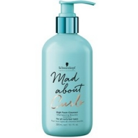 Купить Schwarzkopf Mad About Curls High Foam Cleanser - Очищающий крем-шампунь для волос, 300 мл, Schwarzkopf Professional
