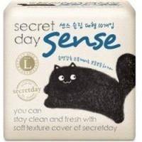 Купить Secret Day Sense Large - Прокладки ультратонкие дышащие органические 28 см, 10 шт