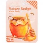 Фото Secret Key Nature Recipe Mask Pack Honey - Тканевая маска для лица, 20 гр