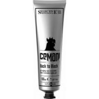 Selective Cemani Back to Black - Гель для укладки со смываемым черным пигментом, 150 мл