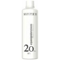 Купить Selective Oligomineral Acqua Ossigenata Emulsionata 20 vol - Оксигент 6% для олигоминеральной крем-краски, 1000 мл, Selective Professional