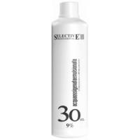 Купить Selective Oligomineral Acqua Ossigenata Emulsionata 30 vol - Оксигент 9% для олигоминеральной крем-краски, 1000 мл, Selective Professional