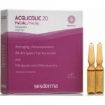 Фото Sesderma Acglicolic 20 Ampoules - Средство в ампулах против морщин AHA 15%, 5 шт по 2 мл