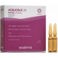 Купить Sesderma Acglicolic 20 Ampoules - Средство в ампулах против морщин AHA 15%, 5 шт по 2 мл