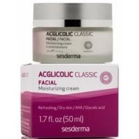 Sesderma Acglicolic Classic Moisturizing Cream SPF 15 - Увлажняющий крем СЗФ 15 для сухой кожи AHA 8%, 50 мл