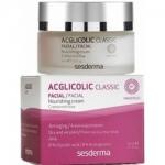 Sesderma Acglicolic Classic Nourishing Cream - Крем питательный для сухой кожи AHA 8%, 50 мл