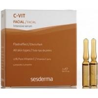 Купить Sesderma C-Vit Intensive Serum 12% - Интенсивная сыворотка 12%, 5 шт по 2 мл