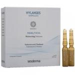 Фото Sesderma Hylanses Ampoules - Увлажняющее средство в ампулах, 5 шт по 2 мл