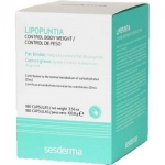 Фото Sesderma Lipopuntia Food Supplement Control Body Weigh - Пищевая добавка БАД Липопунтия Контроль веса, 180 капсул