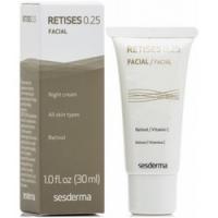 Sesderma Retises Night Cream 0.25% - Регенерирующий крем против морщин, 30 мл