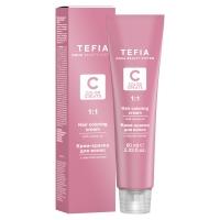 Купить Tefia Color Creats - Крем-краска для волос с маслом монои, 7.2 блондин бежевый, 60 мл