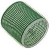 Sibel, 4166549 - Бигуди на липучке зеленые 61мм, 6 шт<br>