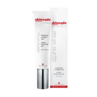 Skincode Essentials Alpine White Brightening Overnight Mask - Маска ночная осветляющая, 50 мл
