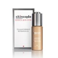 Skincode Exclusive Cellular Overnight Restoration Oil - Масло клеточное ночное восстанавливающее, 30 мл