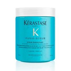 Фото Kerastase - Фузио-скраб Энержизан для склонной к жирности кожи головы Fusio-Scrub Energisant, 650 г