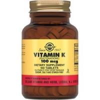 Solgar - Витамин К в таблетках, 100 шт