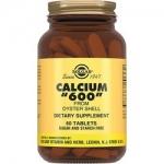Фото Solgar Calcium 600 - Кальций 600 из раковин устриц в таблетках, 60 шт