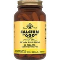 Solgar Calcium 600 - Кальций 600 из раковин устриц в таблетках, 60 шт