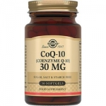 Фото Solgar CoQ-10 30 mg - Коэнзим Q-10 30 мг в капсулах, 30 шт