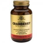 Фото Solgar Cranberry - Натуральная клюква с витамином С в капсулах, 60 шт