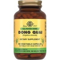 Solgar Dong Quai - Корень дягиля плюс в капсулах, 100 шт