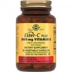 Фото Solgar Ester-C Plus 500 mg Vitamin C - Эстер-С плюс витамин С в капсулах, 50 шт