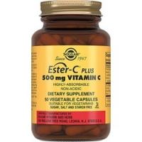 Solgar Ester-C Plus 500 mg Vitamin C - Эстер-С плюс витамин С в капсулах, 50 шт