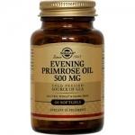 Фото Solgar Evening Primrose Oil 500 mg - Масло примулы вечерней в капсулах, 60 шт