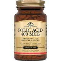 Купить Solgar Folic Acid 400 MCG - Фолиевая кислота в таблетках, 10 шт