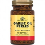 Фото Solgar Garlic Oil Perles - Чесночное масло перлес в капсулах, 100 шт
