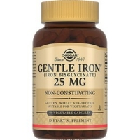 Solgar Gentle Iron 25 mg - Легкодоступное железо Джентл Айрон в капсулах, 90 шт