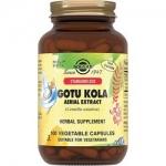 Фото Solgar Gotu Kola - Экстракт Готу Кола 424 мг в капсулах, 100 шт
