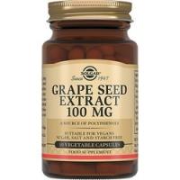 Solgar Grape Seed Extract 100 mg - Экстракт виноградных косточек в капсулах, 30 шт
