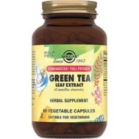 Solgar Green Tea - Экстракт листьев зеленого чая в капсулах, 60 шт