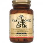 Фото Solgar Hyaluronic Acid 120 mg - Гиалуроновая кислота в таблетках, 30 шт
