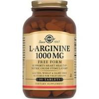 Solgar L-Arginine 1000 mg - L-аргинин в таблетках, 90 шт