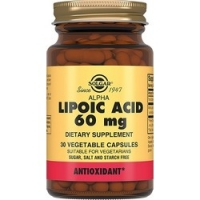 Solgar Lipoc Acid 60 mg - Альфа-липоевая кислота в капсулах, 30 шт фото