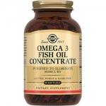 Фото Solgar Omega 3 Fish Oil Concentrate - Концентрат рыбьего жира Омега-3 в капсулах, 60 шт