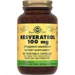 Фото Solgar Resveratrol 100 mg - Ресвератрол в капсулах, 60 шт