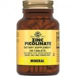 Фото Solgar Zinc Picolinate - Пиколинат цинка в таблетках, 100 шт