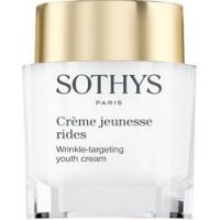 Купить Sothys Wrinkle-Targeting Youth Cream - Крем для коррекции морщин с глубоким регенерирующим действием, 50 мл