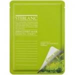 Фото Steblanc Essence Sheet Mask Green Tea - Маска для лица очищающая, с экстрактом зеленого чая, 20 г