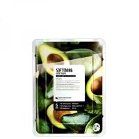 Купить Superfood Salad Facial Sheet Mask Avocado Softening - Тканевая маска «Авокадо - Смягчение», 25 мл, Superfood Salad For Skin
