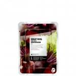Фото Superfood Salad Facial Sheet Mask Beet Brightening - Тканевая маска «Свекла - Ровный тон», 25 мл