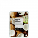 Фото Superfood Salad Facial Sheet Mask Coconut Nourishing - Тканевая маска «Кокос - Питание», 25 мл
