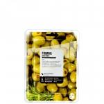 Фото Superfood Salad Facial Sheet Mask Olive Firming - Тканевая маска «Олива - Упругость», 25 мл