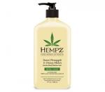 Фото Hempz Sweet Pineapple&Honey Melon Herbal Body Moisturizer - Молочко для тела увлажняющее Ананас & Медовая Дыня , 500 мл