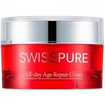 Фото Swisspure All-Day Age Repair Cream - Антиоксидантный восстанавливающий крем, 50 мл